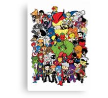 Lil Avengers Assemble! Canvas Print