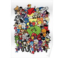 Lil Avengers Assemble! Poster
