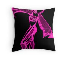Pink Harem Throw Pillow