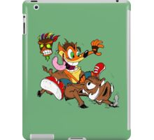 hog wild iPad Case/Skin