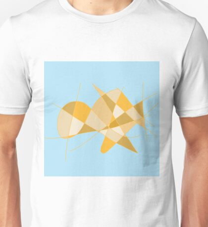 'Without A Shell' Abstract Contemporary Design Unisex T-Shirt