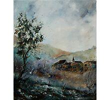 Mist in the Ardennes Belgium Photographic Print