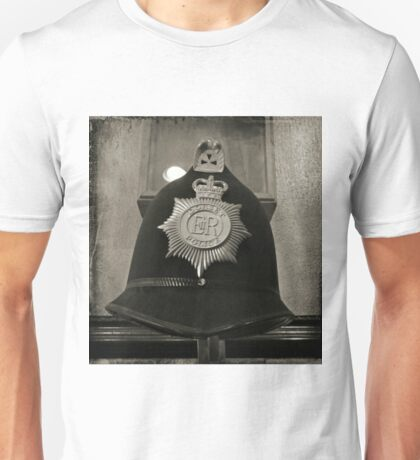 Old Antique Police Hat Unisex T-Shirt