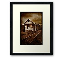 The day you went away Framed Print
