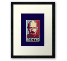 METH - Walter White Framed Print