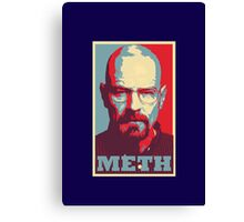 METH - Walter White Canvas Print