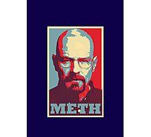 METH - Walter White Photographic Print