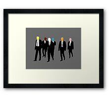Every Dog Has His Colour Framed Print