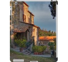 Tuscany mountain house iPad Case/Skin