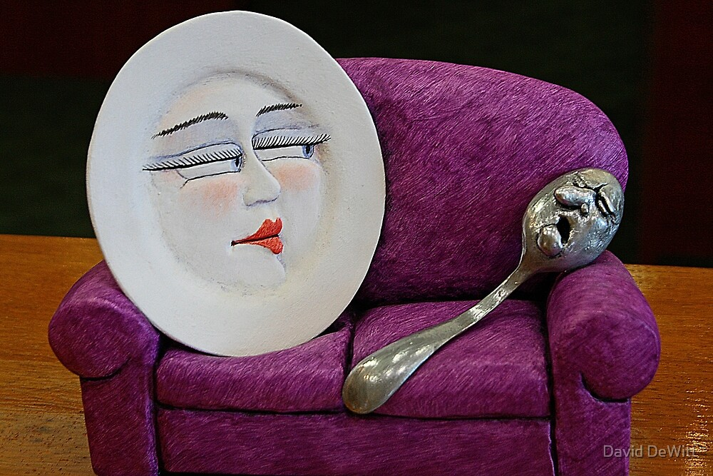The Dish Ran Away With The Spoon by David DeWitt