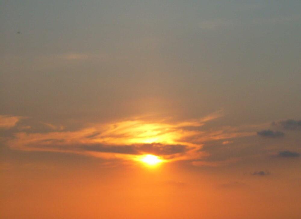 sunset by Devika Fernando