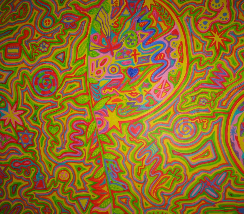 Peace closeup1 by Psychedelia