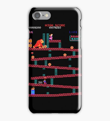 Arcade Kong iPhone Case/Skin