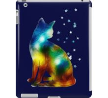 Galactic Space Pussy On Milky Way, Cat, Space, Galaxy iPad Case/Skin