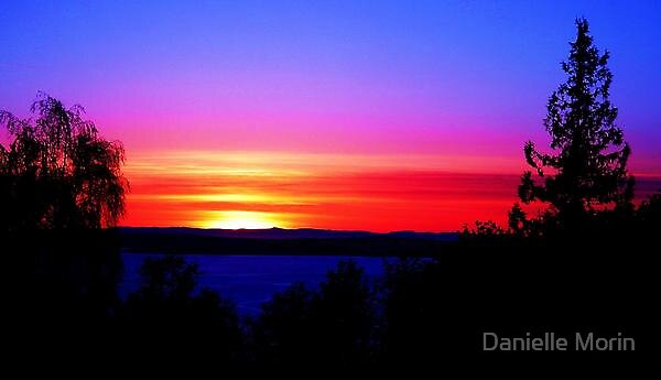 Original Island Sunset by Danielle Morin
