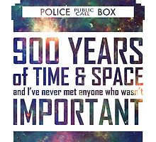 900 Years of Time and Space by debaroohoo