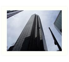 Towering Tower Art Print