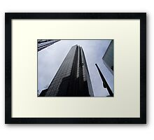 Towering Tower Framed Print