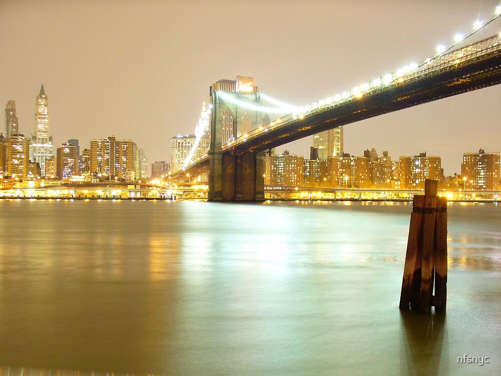Brooklyn Bridge by nfsnyc