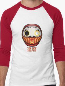 mikoto's Daruma Doll Men's Baseball ¾ T-Shirt