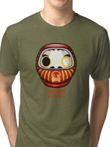 mikoto's Daruma Doll Tri-blend T-Shirt