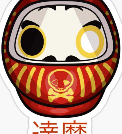 mikoto's Daruma Doll Sticker