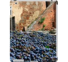 Grape harvest iPad Case/Skin