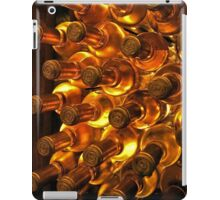 White wine bottles iPad Case/Skin