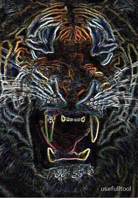 Emo Tiger by usefulltool