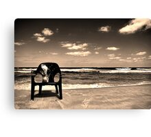 Out of place Canvas Print