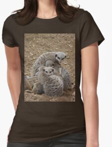 Bundle of Meerkats  Womens Fitted T-Shirt