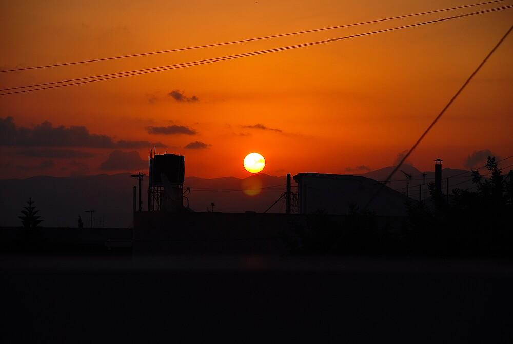 MINOAN SUNRISE by kevman