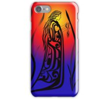 Medicine Woman at Sunrise iPhone Case/Skin