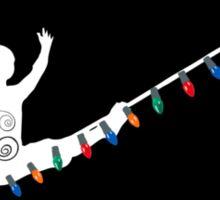 Holiday Light Wire Sticker