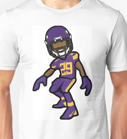 Xavier Rhodes Vector Artwork Unisex T-Shirt