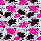 Fashionable pattern with panther heads by Tanor