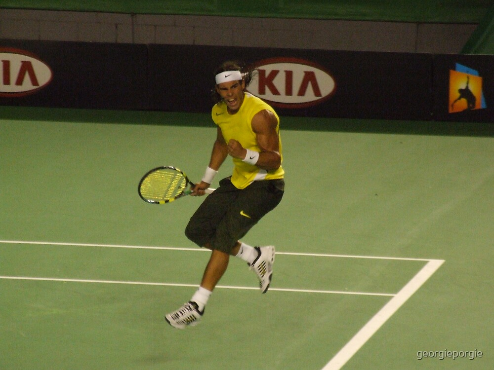 Rafael Nadal by georgieporgie