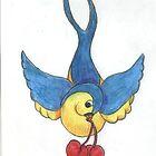 swallow by inkylady