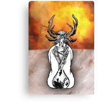 Carcosa Within Canvas Print