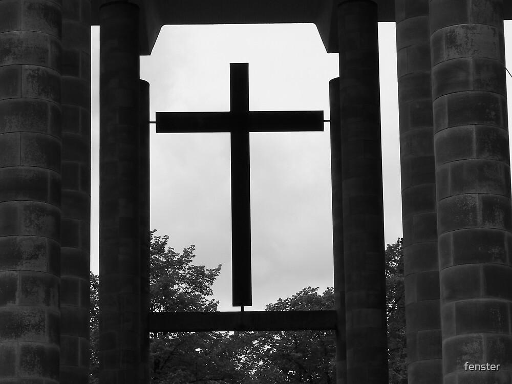 crucifix by fenster