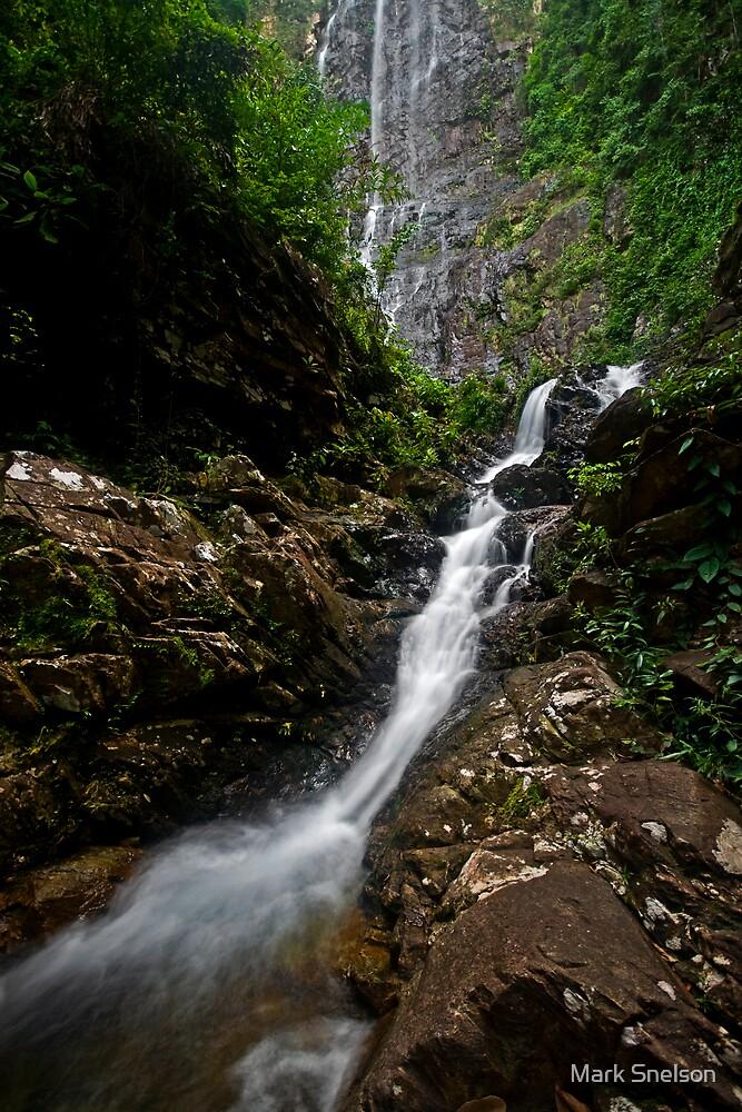 Temurun Waterfall 10 by Mark Snelson