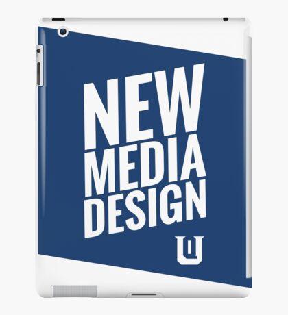 New Media Design at Queens University of Charlotte iPad Case/Skin