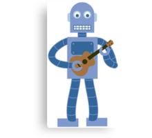Ukulele Robot Canvas Print