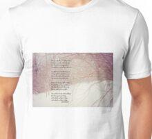 Woods lovely dark and deep Unisex T-Shirt