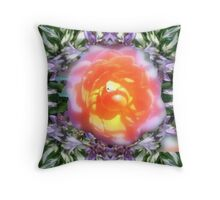 Flowperition Throw Pillow