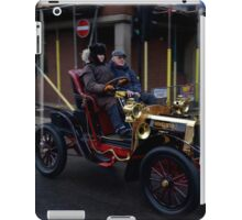 A Veteran Car on the Bonhams London - Brighton run 2014 iPad Case/Skin