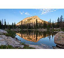 High Mountain Lake Photographic Print