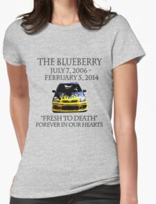 R.I.P. Blueberry Womens Fitted T-Shirt