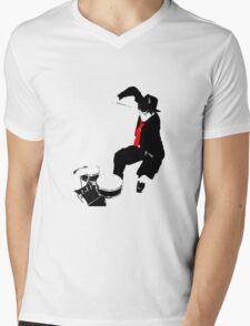 never stop rocking Mens V-Neck T-Shirt