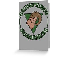 Goodsprings Bighorners Greeting Card